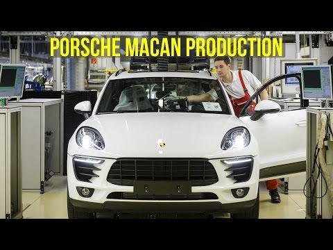 Porsche Macan Production