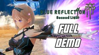 Blue Reflection: Second Light Demo - Full Gameplay Walkthrough (PS5)