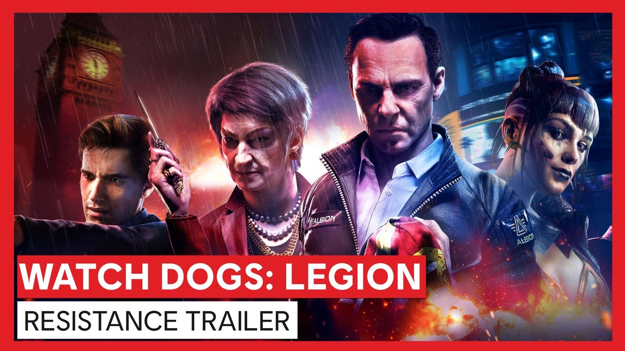 Watch Dogs: Legion - Resistance Trailer
