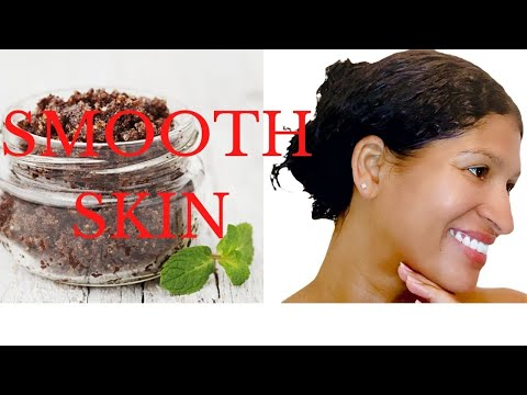 DIY:  COFFEE SCRUB FOR BODY ACNE AND CELLULITE | GLOWING SKIN AT HOME | HOW TO GET RID OF ACNE