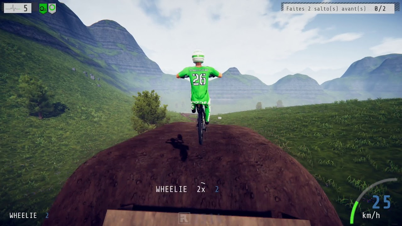 Descenders Xbox One X Gameplay - YouTube