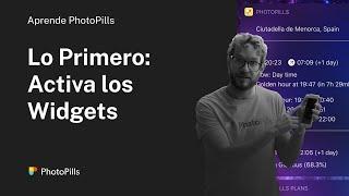 La primera cosa que debes hacer al instalar PhotoPills: Activar los Widgets