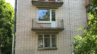 Остекление и отделка балкона 3 метра.(, 2015-07-19T23:17:55.000Z)