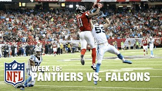 Julio Jones Jumps Over Kuechly & Sprints for 70-yd Photo Finish TD | Panthers vs. Falcons | NFL