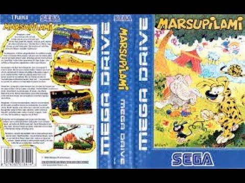 gameplay marsupilami mega drive part 1