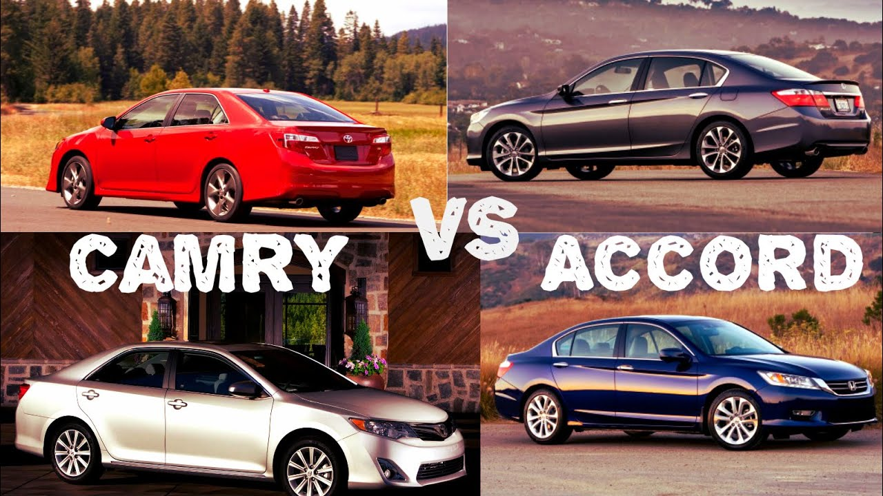 2014 Toyota Camry Vs 2014 Honda Accord Comparison Youtube