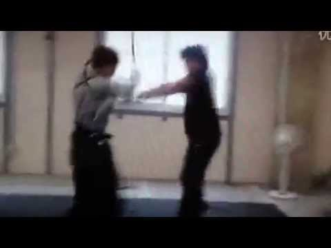 Takeru Sato sword fight rehearsal