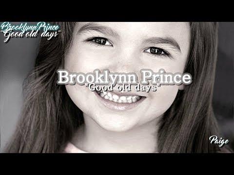 "Brooklynn Prince ""Good Old Days"""