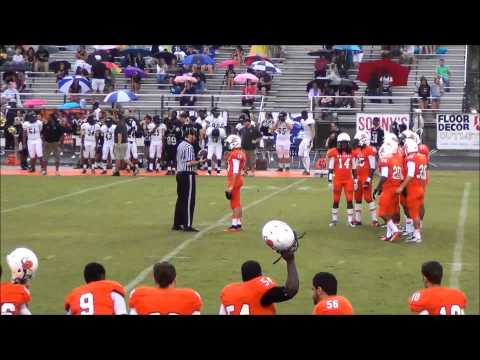 Andrew Berlin Orange Park High School Football highlights 2014