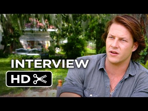 The Best Of Me Interview - Luke Bracey (2014) - Michelle Monaghan Romance Movie HD