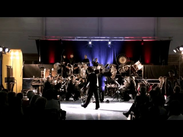 FOH31 2018 -  Danseurs Angélique et Hermann - Caribbean Variations par le Brass Band Occitania (BBO)