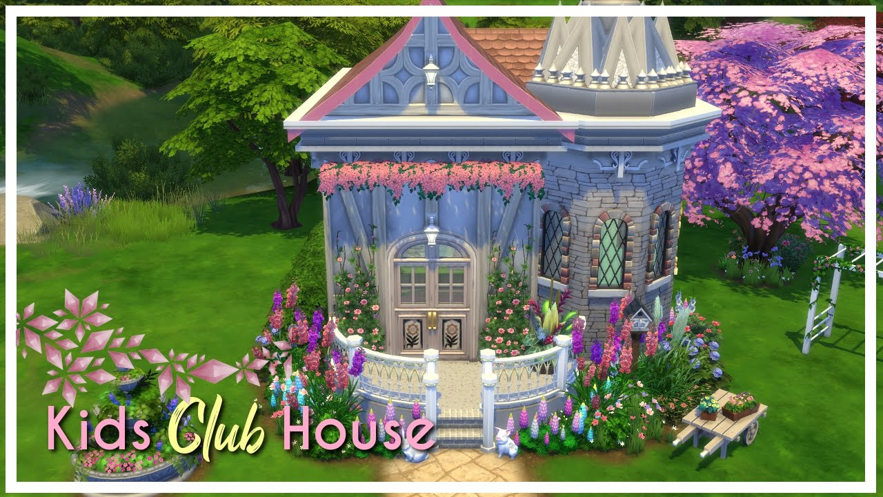 kids clubhouse. Delighful Kids Thesims Thesims4 HouseBuild In Kids Clubhouse N
