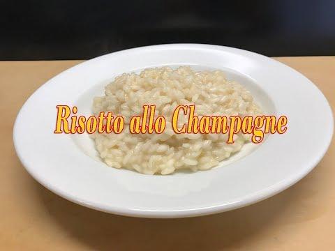Risotto allo Champagne - Ricetta Speciale