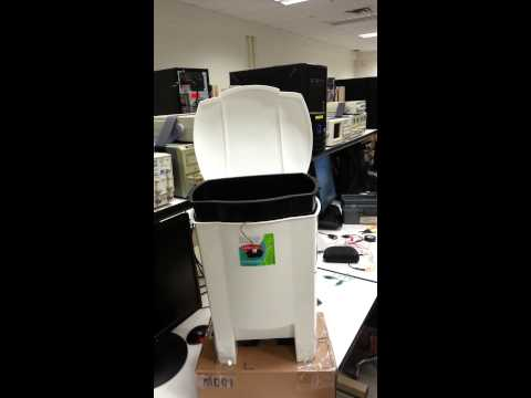 Automated Garbage Bin Project