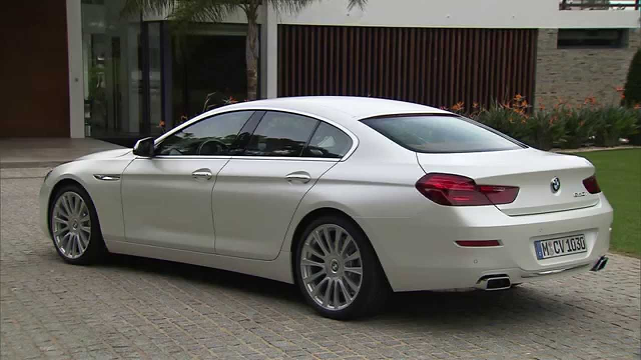 exterior design 2015 bmw 6 series gran coupe youtube. Black Bedroom Furniture Sets. Home Design Ideas