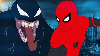 Веном напал на Человека-Паука