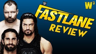 WWE Fastlane 2019 Review | Wrestling With Wregret