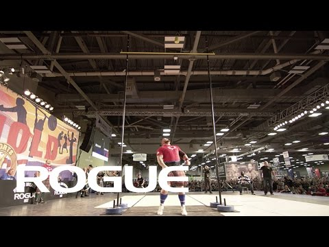 "2017 Rogue Record Breaker - Hafthor Bjornsson's 19' 7"" Weight For Height / 4K"