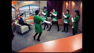 Gruppa jigiti на 5 канале! Лезгинка,Бишкек!Прямой эфир