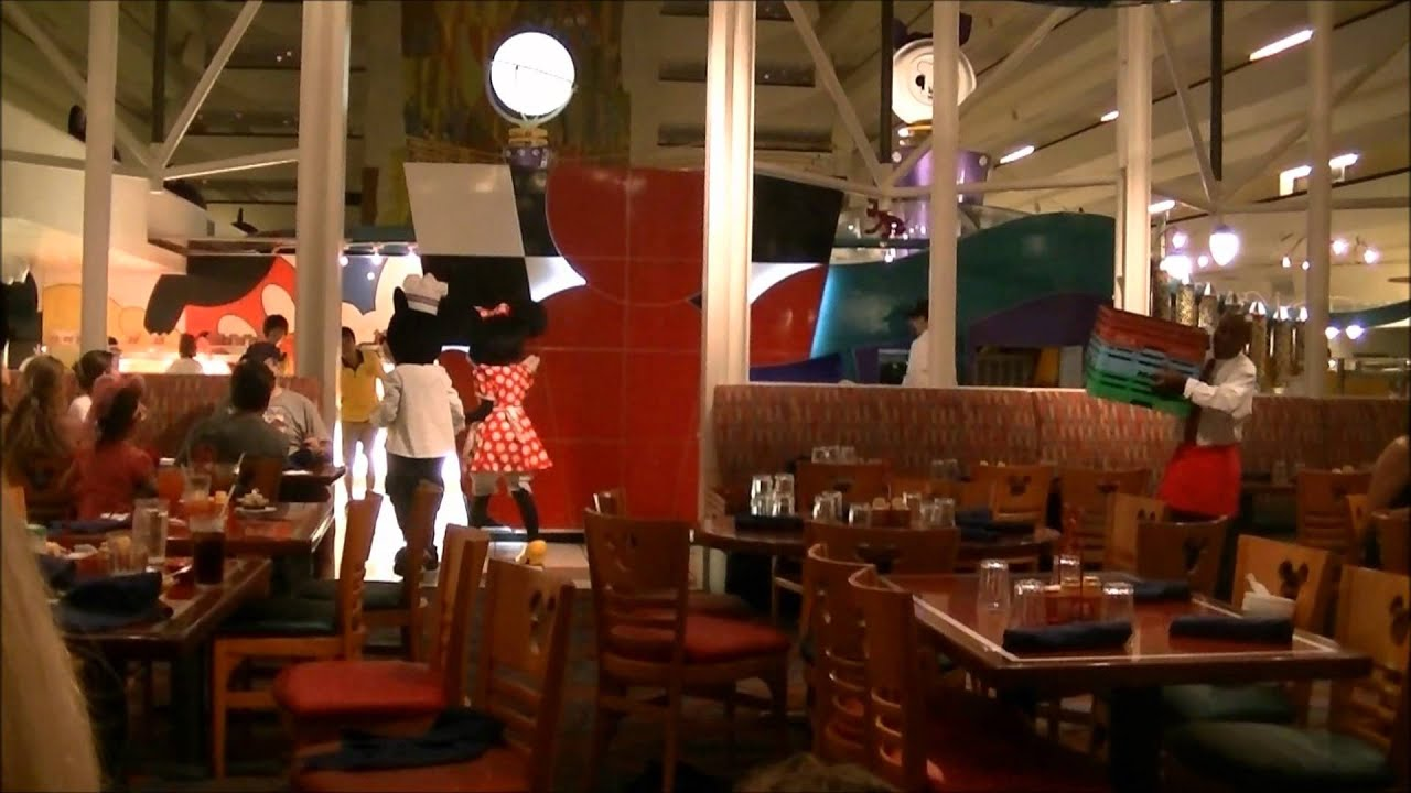 chef mickey u0027s video review disney u0027s contemporary resort youtube