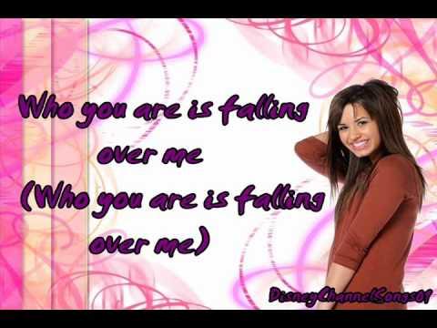 Demi Lovato Falling Over Me With Lyrics