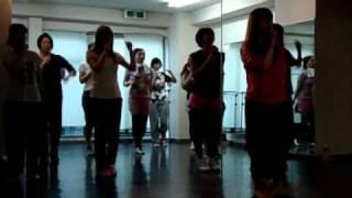 SOB48(新大久保フォーティーエイト)の第1回ダンスレッスンの様子です!!