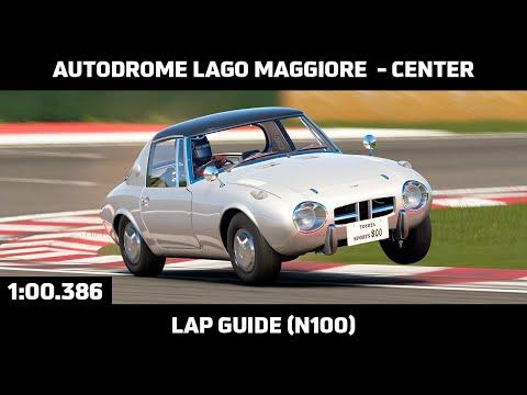 Gran Turismo Sport - Daily Race Lap Guide - Autodrome Lago Maggiore Center - Toyota Sports 800