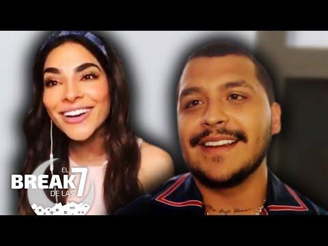 ¡Alerta Aníbal! Christian Nodal le tira la onda a Alejandra Espinoza en vivo   El Break de las 7