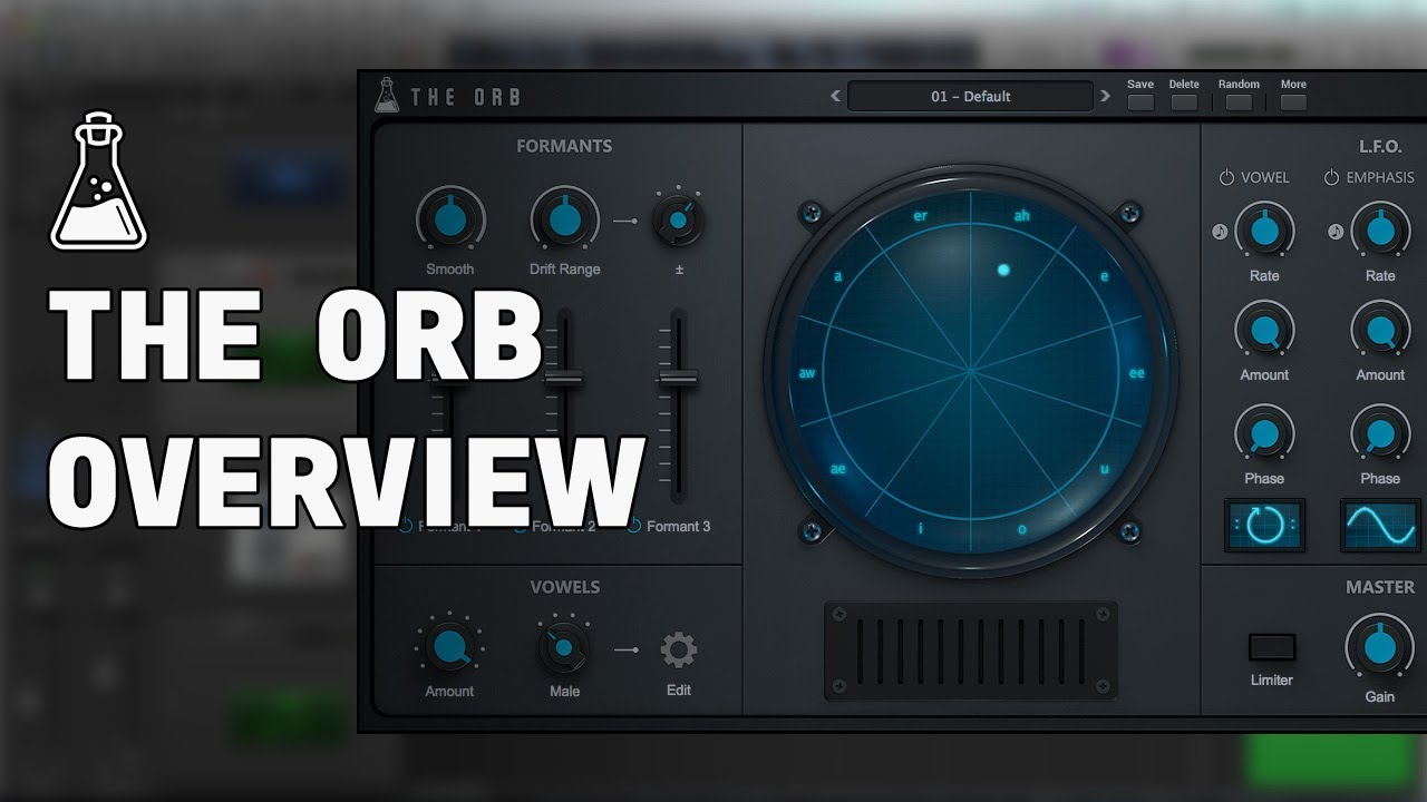 The Orb - Vowel / Formant Filter Plugin (VST, AU, AAX