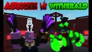 Aduxit vs Witherald PSA Highlights #01 | ROBLOX - Projekt Submus Accudo