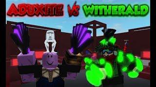 Aduxite vs Witherald PSA destaques #01 | ROBLOX-projeto Submus Accudo
