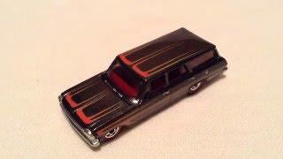 Hot Wheels 1964 Chevy Nova Station Wagon (Heritage Series - Redline)