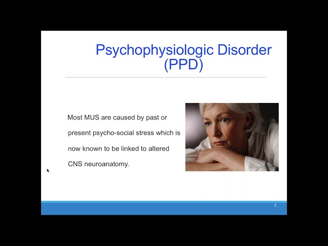 CFHA Webinar: Medically Unexplained Symptoms  Diagnosis and Treatment