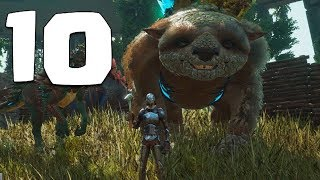 ESTE DINO COME METAL!! ARK EXTINCTION #10