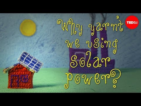 Why aren't we only using solar power? - Alexandros George Charalambides