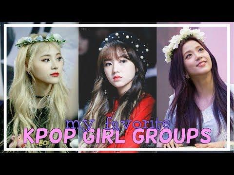 My Top 15 Favorite KPOP Girl Groups