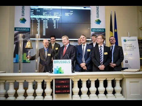 Listing of biotech company arGEN-X on EnterNext in Brussels