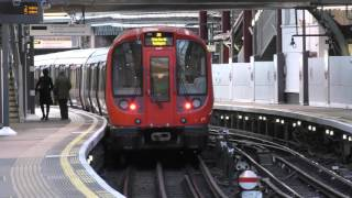 Circle Line S7 Stock 21507 Departing Farringdon
