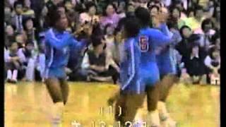 1981年のバレーボール