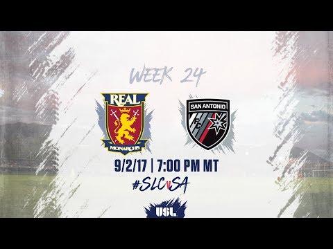 USL LIVE - Real Monarchs SLC vs San Antonio FC 9/2/17