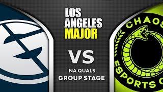 EG vs Chaos ESL One Los Angeles Major 2020 NA Highlights Dota 2