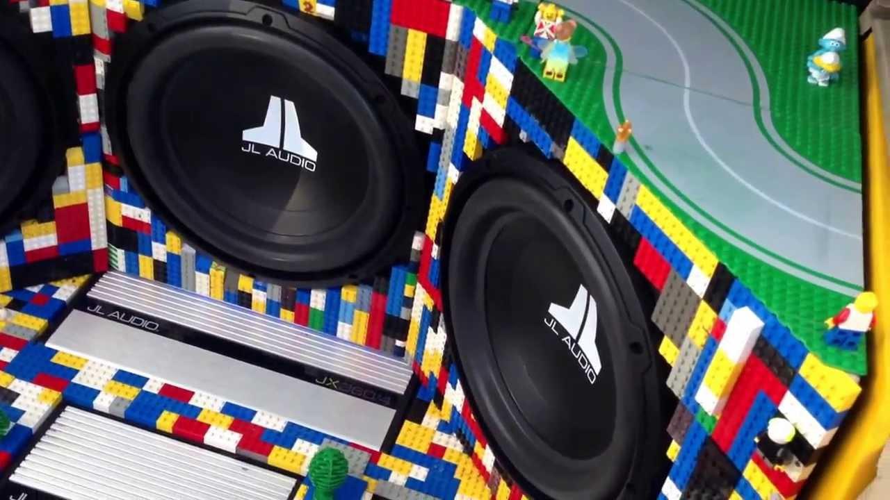Cool Speaker Boxes trax 2013 - cool lego subwoofer setup - youtube