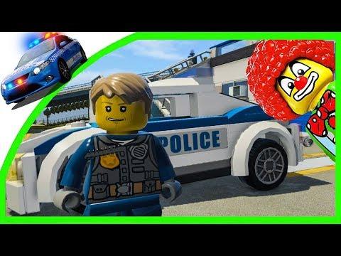 Лего Полицейские Машины Мультики Игры для Детей Lego Police