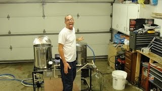 Brewing Beer with Billy D All gain porter beer