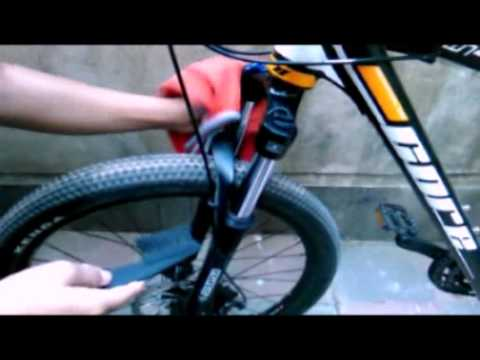 How to maintain,clean suspension of mountain bike