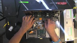 SONY VGN-SZ330P SZ laptop take apart video, disassemble, how to open disassembly