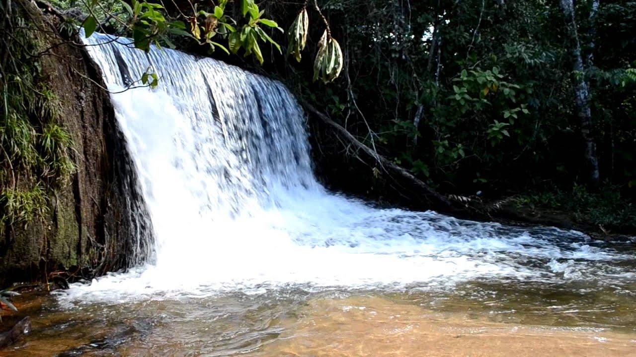 Cachoeira da Fumaça - Jaciara/MT - YouTube  Cachoeira da Fu...
