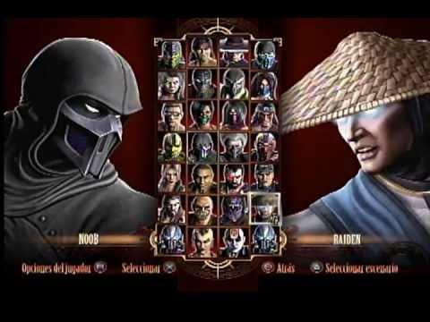 Jugando Mortal Kombat Komplete Edition 2 Jugadores MK PS3 Kratos Mortal Kombat 9