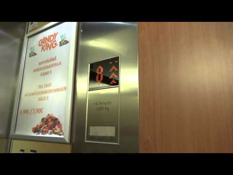 2007 KONE MiniSpace Traction Elevator @ Tallink Silja Line Cruiseferry M/S Baltic Princess.