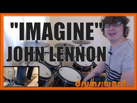★ Imagine (John Lennon) ★ Drum Lesson PREVIEW | How to Play Song (Jim Keltner)